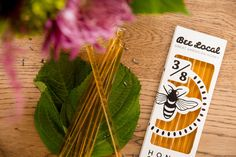 Honey Sticks. Included in our Celebrate Spring Box!