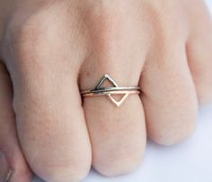 Gold Spike Ring.