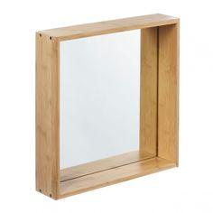 MONOQI | L Wall Cube Regal Mit Spiegel