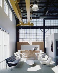 Huge Loft W/ Classic Pieces of Furniture