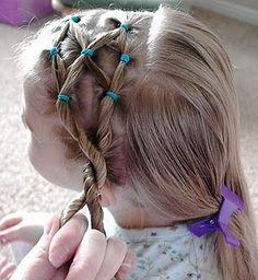 Side puff braid