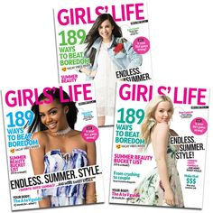 The Covers Of Girlslifemag Featuring Dove Cameron Sofia Carson And China Anne Mcclain