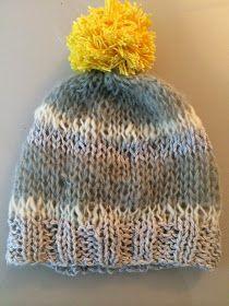 J'ai franchi une étape cruciale dans ma vie de tricoteuse : J'ai appris à faire des bonnets.   ATTENTION.   Des bonnets faciles à faire.   ... Knitted Hats, Crochet Hats, Little People, Headpiece, Sons, Winter Hats, Dressing, Diy, Pattern