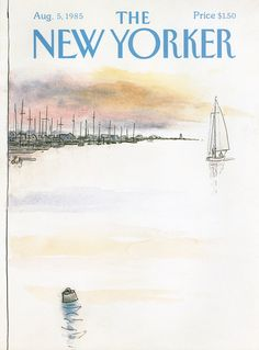 The New Yorker - Monday, August 5, 1985 - Issue # 3155 - Vol. 61 - N° 24 - Cover by : Arthur Getz