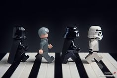 The Beatles, Abbey Road: Star Wars LEGO