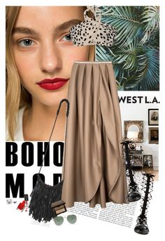 """""""SoTotallyLA 1"""" by giogiota ❤ liked on Polyvore featuring Rossetto, House of Nomad, Nila Anthony, Becca, Friend of Mine, Raye, Bobbi Brown Cosmetics, Maria Francesca Pepe, Quay and SoTotallyLA"""