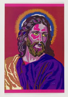 Eduardo Paolozzi 1970 Jesus Colour by Numbers.