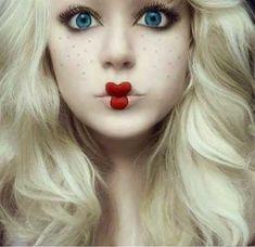 Tutorial de Maquiagem de Boneca: Fotos e Passo a Passo