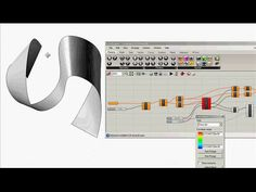 Developable Surface Optimization on Vimeo
