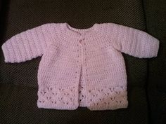 Family, Books and Crochet...Oh My!: Pretty In Pink Sweater [ Free Crochet Pattern ]