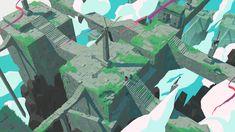 ArtStation - Waycaster Concept/Look Dev, Nick Carver Fantasy World, Fantasy Art, Character Design Sketches, Unity Games, Game Concept, Environment Concept Art, Animation, Environmental Art, Deviantart