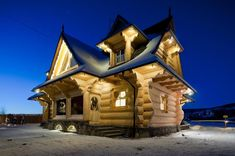 Larger Log Houses — The Little Log House Company