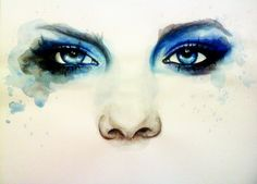 You don't have to be bruised to be emotionally harmed from domestic violence & bullying. The eyes tell a thousand stories. Please, seek help from someone that you trust. Watercolor Eyes, Watercolor Portraits, Watercolor Paintings, Marion Bolognesi, Realistic Eye Drawing, Drawing Eyes, Eye Art, Art Tutorials, Art Inspo