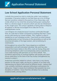 best personal statements law school The law school personal statement is an opportunity to distinguish yourself from other applicants perfect your law school application essay with our tips.