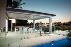 The Pavilion by Stratco is so much more than an outdoor living area. With the very best in design & construction, experience alfresco living redefined. Pergola Patio, Pergola Kits, Backyard, Pergola Ideas, Patio Ideas, Outdoor Living Patios, Outdoor Spaces, Outdoor Decor, Pavilion Architecture