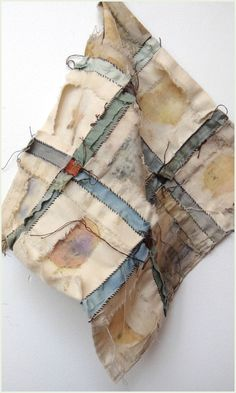 The otherside of April Jude Hill's gorgeous slow stitching. Adore her work http://spiritcloth.typepad.com/spirit_cloth/