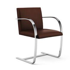 Brno Chair - Flat Bar Mies van de Rohe 1930 Germany