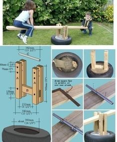 10 diy outdoor toys for kids- craft tutorials and free plans to build these fun toys for big kids. Keep your backyard fresh with these creative ideas! Kids Outdoor Play, Backyard For Kids, Outdoor Fun, Diy For Kids, Big Kids, Outdoor Play Areas, Outdoor Decor, Backyard Playground, Backyard Games