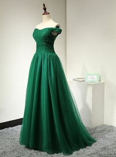 Emerald Green Evening Dress for Weddings Long by MelissaLife89