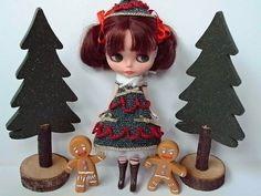 Christmas Trees & Blythe