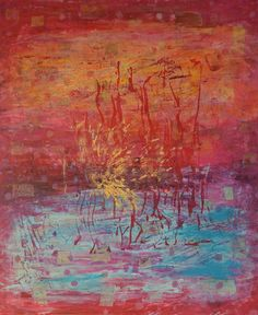 World of Fantasy, mixed media on canvas, 2014 World Of Fantasy, Mixed Media, Canvas, Painting, Art, Tela, Art Background, Painting Art, Kunst