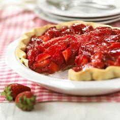 Glazed Strawberry Pie