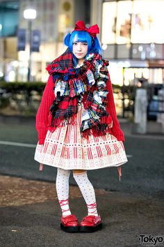 Japanese Idol Style in Harajuku w/ Candye Syrup Hair, Pink House, Angelic Pretty & Nincompoop Capacity