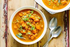 Recipe: Vegan Sweet Potato Chowder — Quick and Easy Weeknight Soups