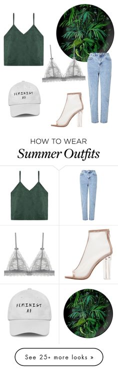 """Green outfit"" by malochtiva on Polyvore featuring Miss Selfridge"