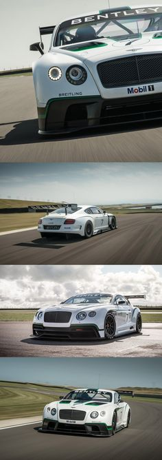 Bentley's have a weird sort of 'good looking'. But it still is. Bentley Continental GT3. #racecar