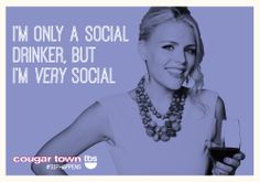 2014 New Year's Resolution: Be more like Laurie. #SipHappens #CougarTownTBS