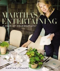 Any Martha Stewart book for my high school Home Management class!