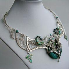 Amazing wirework necklace!