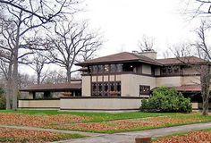 Ward W. Willits House, designed by Frank Lloyd Wright, Highland Park, Ill.