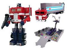 Although I do not mind watching Megan Fox, the Generation 1 (1984?) Transformers were more magical to me. Optimus Prime rocked.