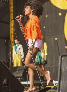 Solange at Jazz Fest 2014
