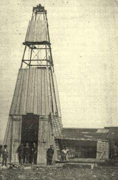 1910 - Pozzo per la ricerca dello zolfo a Canneto Pergola, Tower, Building, Travel, Italia, Branding, Rook, Lathe, Outdoor Pergola