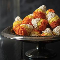 These charming sweet-and-savory rice cereal treats are spicy enough to serve with drinks and sweet enough to satisfy a candy craving.    More Hall...
