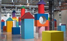 Daniel Buren's new installation at the Museo Espacio | Wallpaper*