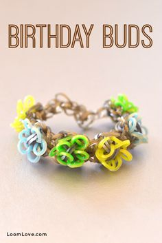 How to Make a Birthday Buds Bracelet