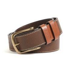 Ribbed Belt - Brown
