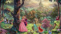 Sleeping Beauty Art