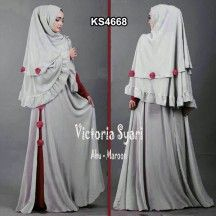 Baju Gamis Victoria