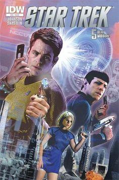#StarTrek (IDW) #43 Cover A Regular Joe Corroney Cover - Midtown Comics