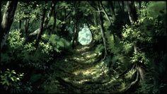 princess mononoke forest - Google Search