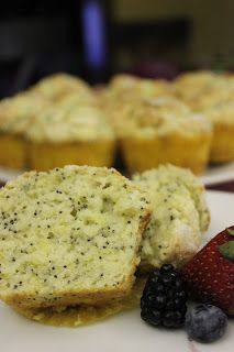 Luscious Confections: Lemon Poppyseed Muffins