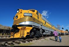 RailPictures.Net Photo: DRGW 5771 Denver & Rio Grande Western Railroad EMD F9(A) at Golden, Colorado by BUFFIE