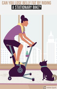 Yes, you can lose belly fat by riding a stationary bike but you lose throughout your entire body. No one exercise or workout plan wil. Outdoor Workouts, At Home Workouts, Cross Training For Runners, Lose Weight, Weight Loss, Cycling Workout, Fat Burning Workout, Burn Belly Fat, Bike