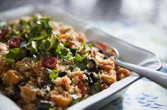 Southwestern Sweet Potato and Quinoa Salad