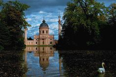 """""""Jardin Turc"""", Castle Schwetzingen, Germany. The building in the form of a mosque (1792/1793) should symbolize the tolerance against every religion. In the tradition of the Enlightenment."""